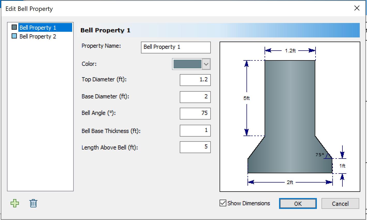 RSPile: Design Pile Segment