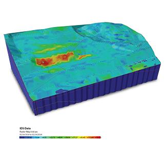 Thumbnail radar satellite monitoring