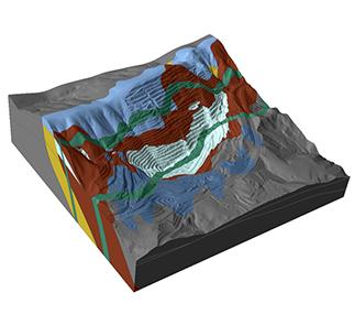 Thumbnail slope stability open mine