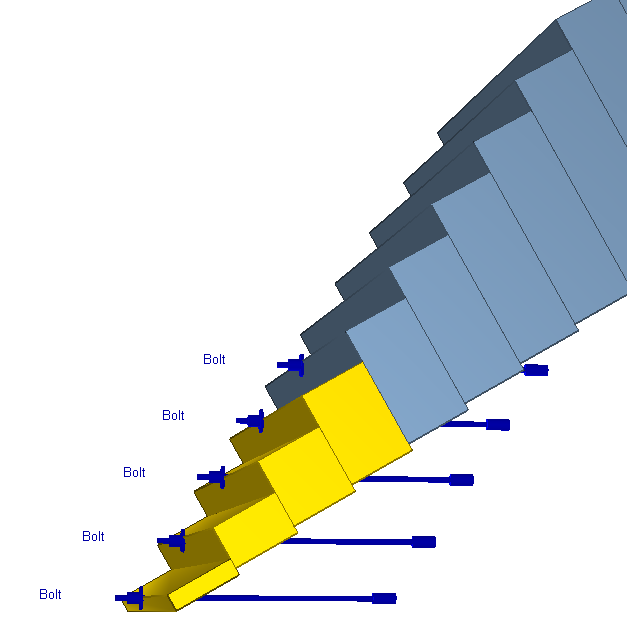 RocTopple Figure 6: View bolt support.