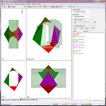 UnWedge Figure 4: 3D wedge view.